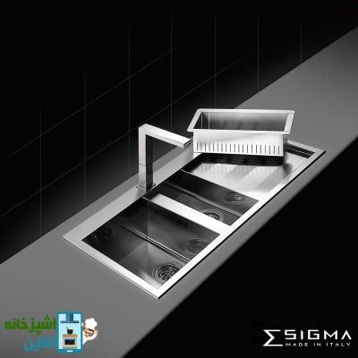 Sigma SinkAP SQ 2B1D 116 Steel