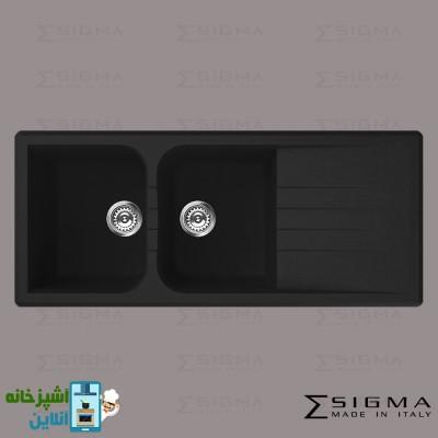 Sigma SinkEL Venice 2B1D 116.50 Full Black